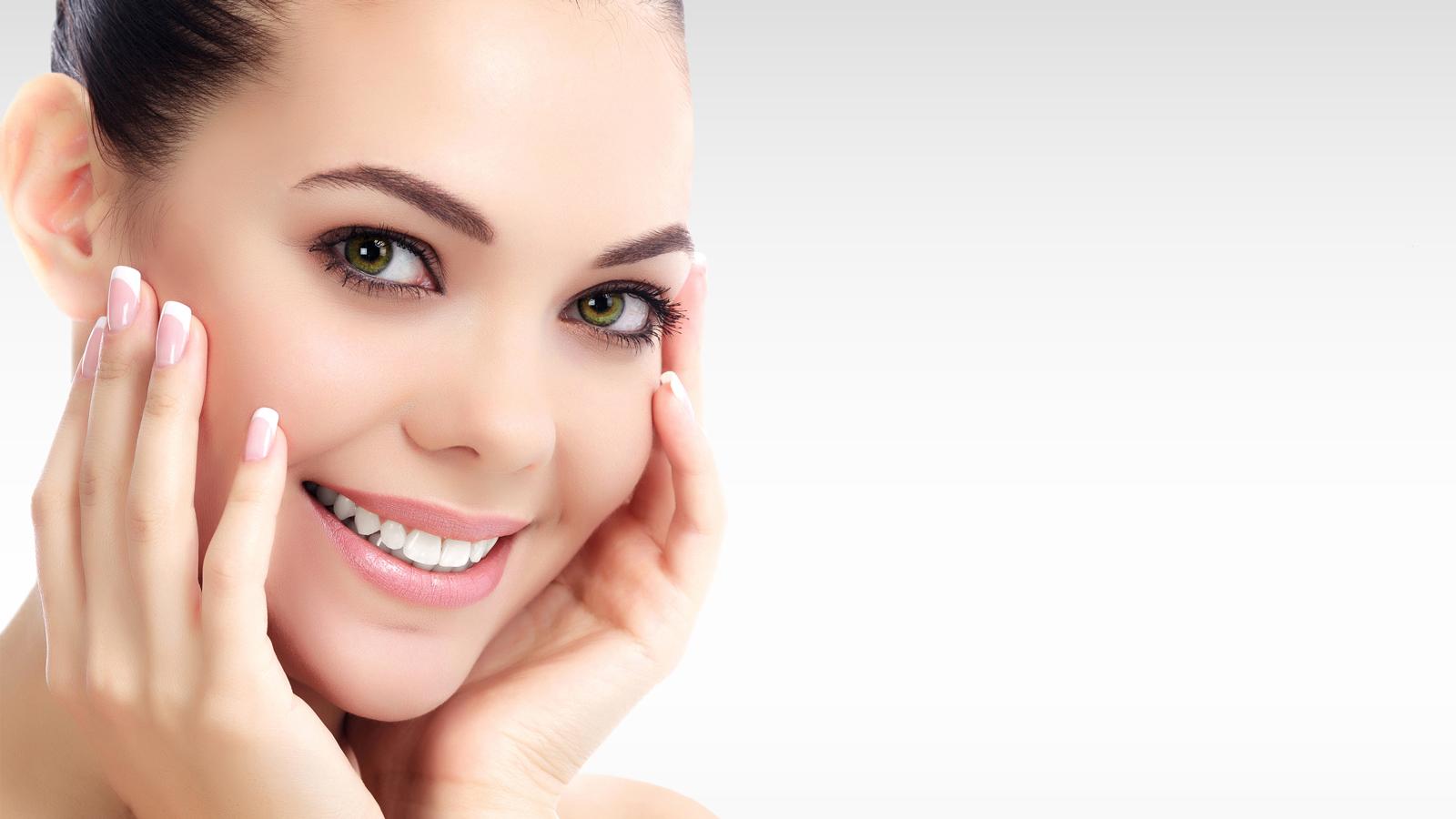 La qualité de la peau par des injections d'acide hyaluronique